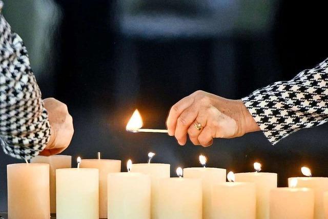Auch Lahr gedenkt der Opfer der Corona-Pandemie
