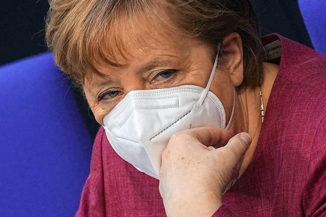 Bundeskanzlerin Merkel mit Astrazeneca geimpft