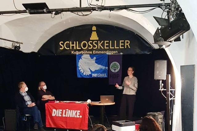 Imke Pirch träumt vom Bundestagsmandat für die Linke in Emmedingen/Lahr