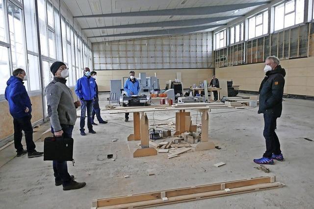 Beim Großprojekt Wutachhalle geht es in den Endspurt