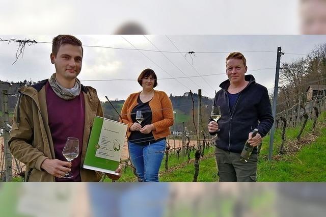 Jungwinzerwein erhält Prämierung