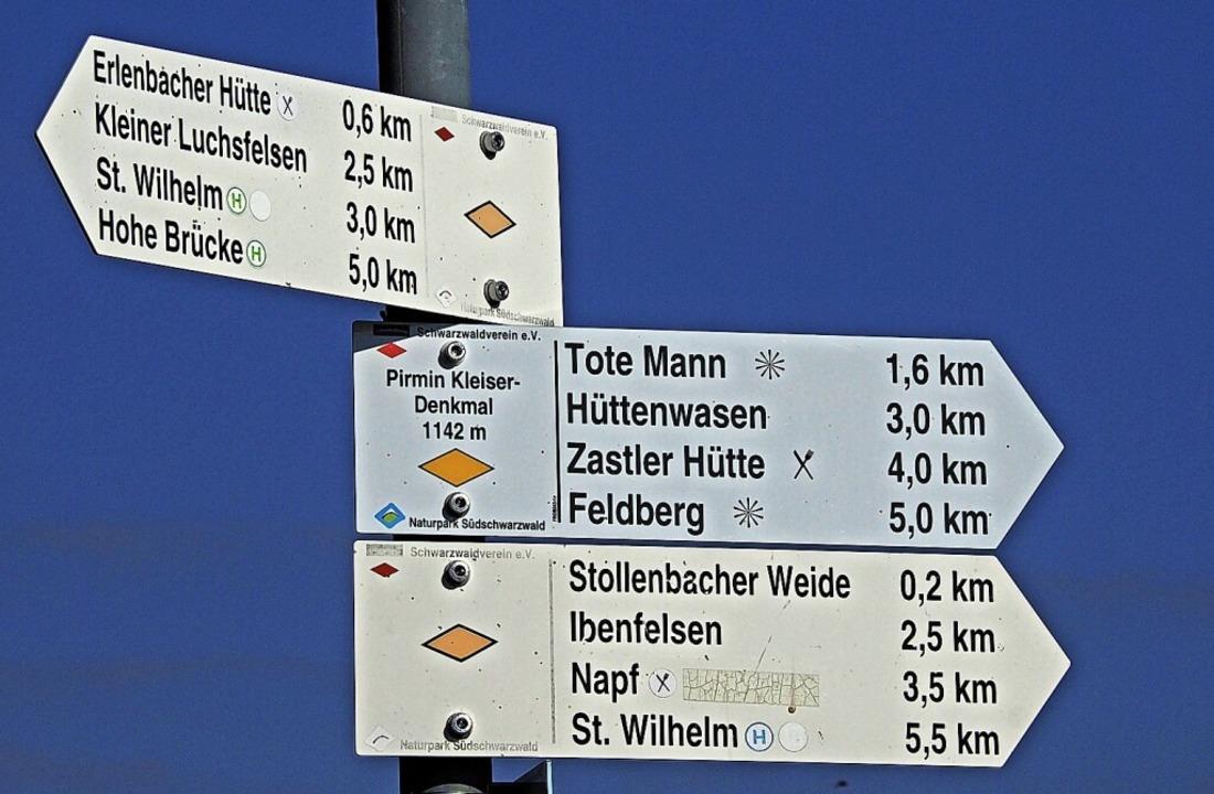 Hier geht's lang zur Erlenbacher Hütte  | Foto: Markus Donner