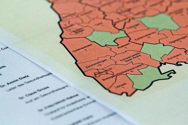 Fast alle Gemeinden und Städte von Neuinfektionen betroffen