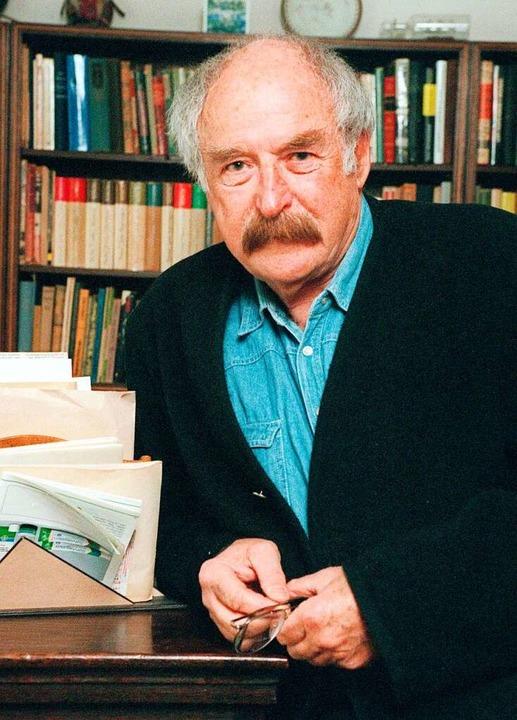 Walter Kaufmann (1999)    Foto: Hubert Link (dpa)