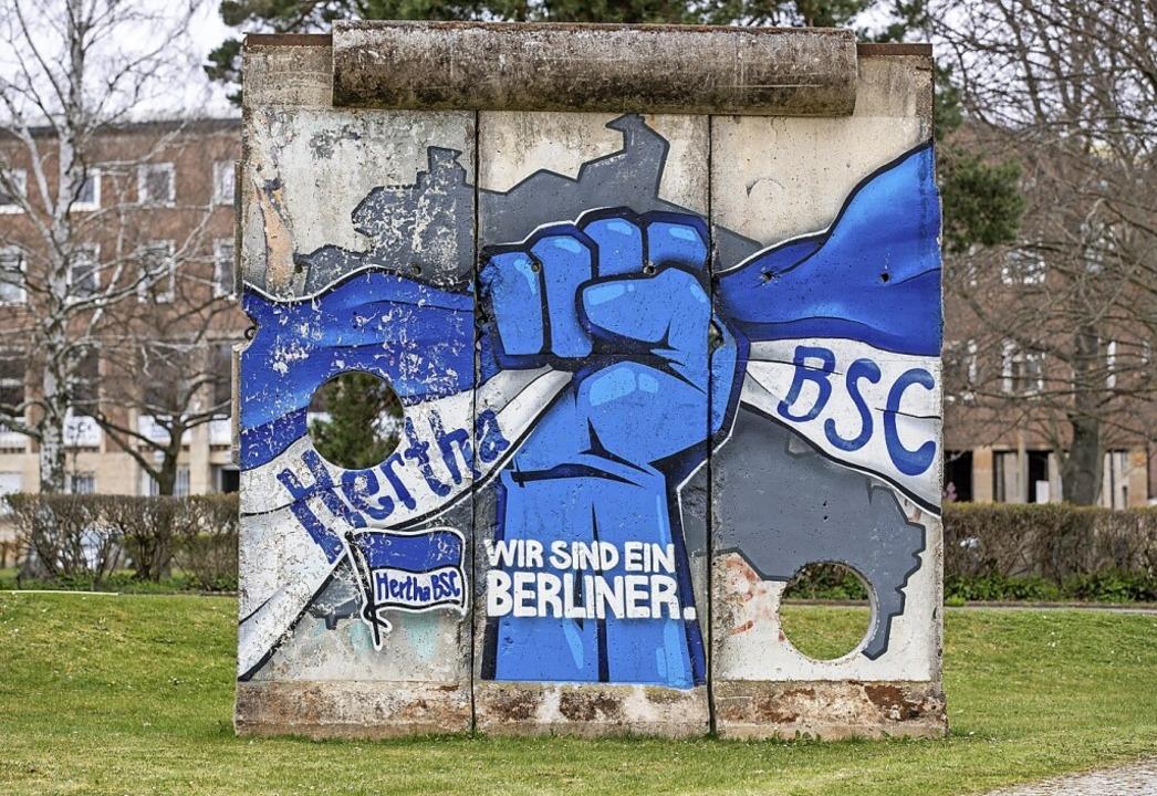 Fußball-Bundesligist Hertha BSC hat na...n Mannschaft und Trainerstab isoliert.  | Foto: Andreas Gora (dpa)