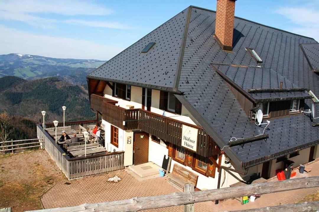 Die Höfener Hütte hat am Wochenende bei gutem Wetter geöffnet.  | Foto: Andreas Peikert