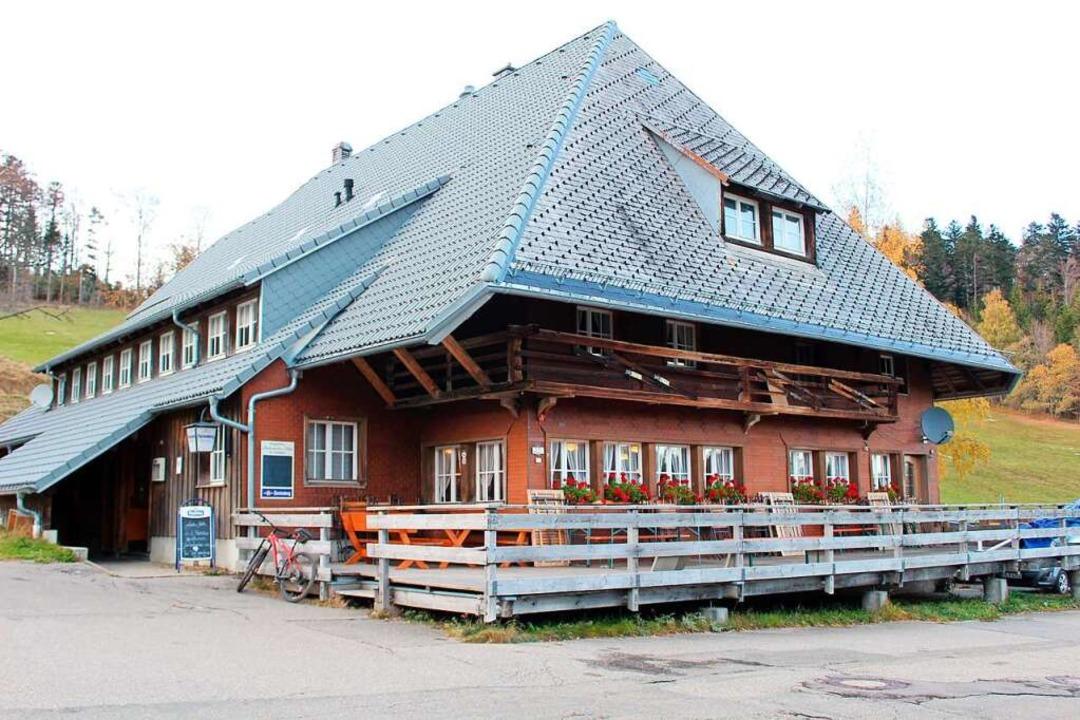 Die Stollenbacher Hütte bietet freitag...#8211; ebenfalls nur bei gutem Wetter.  | Foto: Erich Krieger