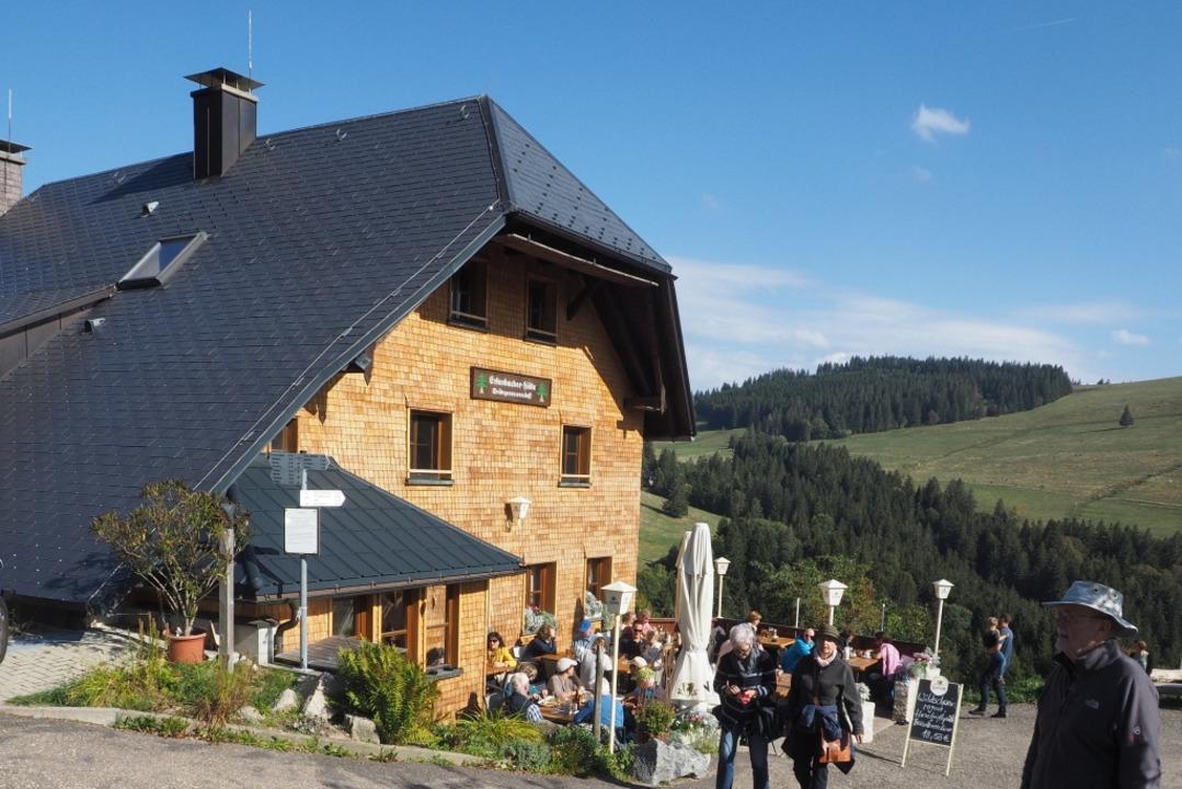Die Erlenbacher Hütte war vor der Pandemie ein beliebtes Ausflugsziel.  | Foto: Markus Donner