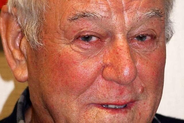 Walter Kaufmann war bei einem Notruf stets zur Stelle – manchmal sogar mit dem Fahrrad