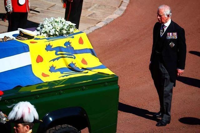Liveblog: Großbritannien nimmt Abschied von Prinz Philip