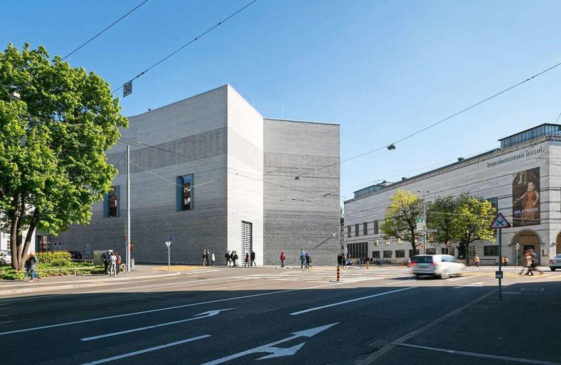 Das Kunstmuseum Basel begrüßt Besucher...n, wenn es die Corona-Regeln erlauben.  | Foto: Julian Salinas (dpa)