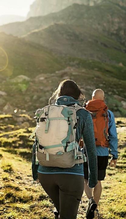 Auszeit in den Bergen: Wandern in der Schweiz  | Foto: Ivo Scholz (dpa)