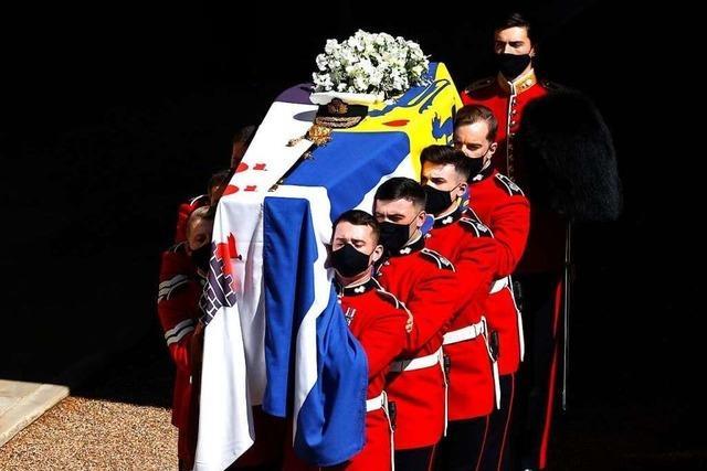 Die Trauerfeier für Prinz Philip auf Schloss Windsor