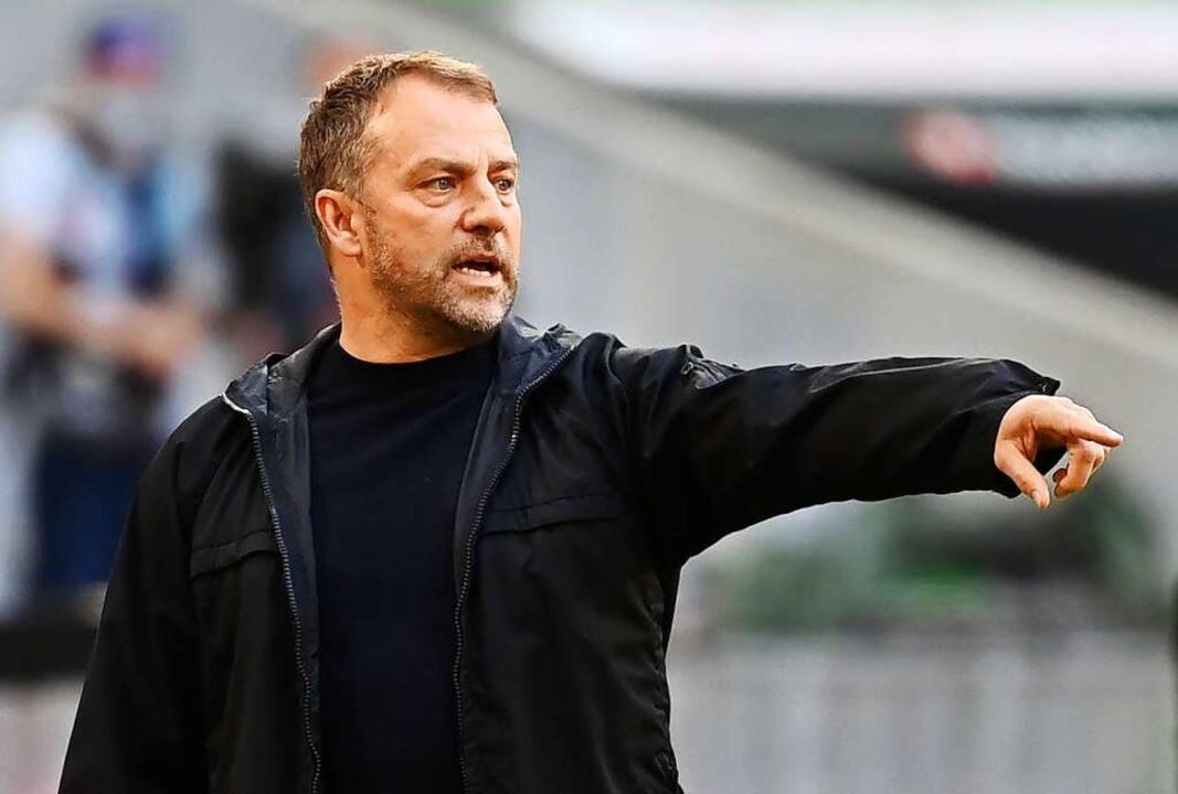 "Münchens Trainer Hans-Dieter ""Hansi"" Flick  | Foto: Sven Hoppe (dpa)"