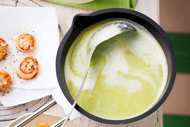 Frisch, leicht und grün: Drei leckere Suppen fürs Frühjahr