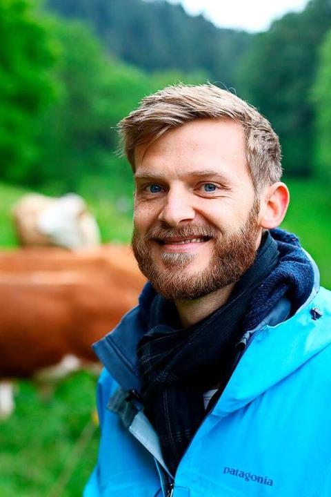 Organisiert den Vertrieb des Fleisches: Julian Liewer  | Foto: David Seitz