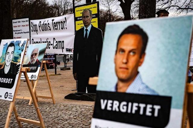 USA drohen Russland im Fall von Nawalnys Tod mit Konsequenzen