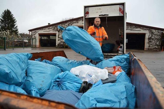 Illegaler Müll macht Denzlinger Bauhof zu schaffen