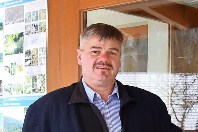 Martin Wietzel gewinnt die Bürgermeisterwahl in Utzenfeld