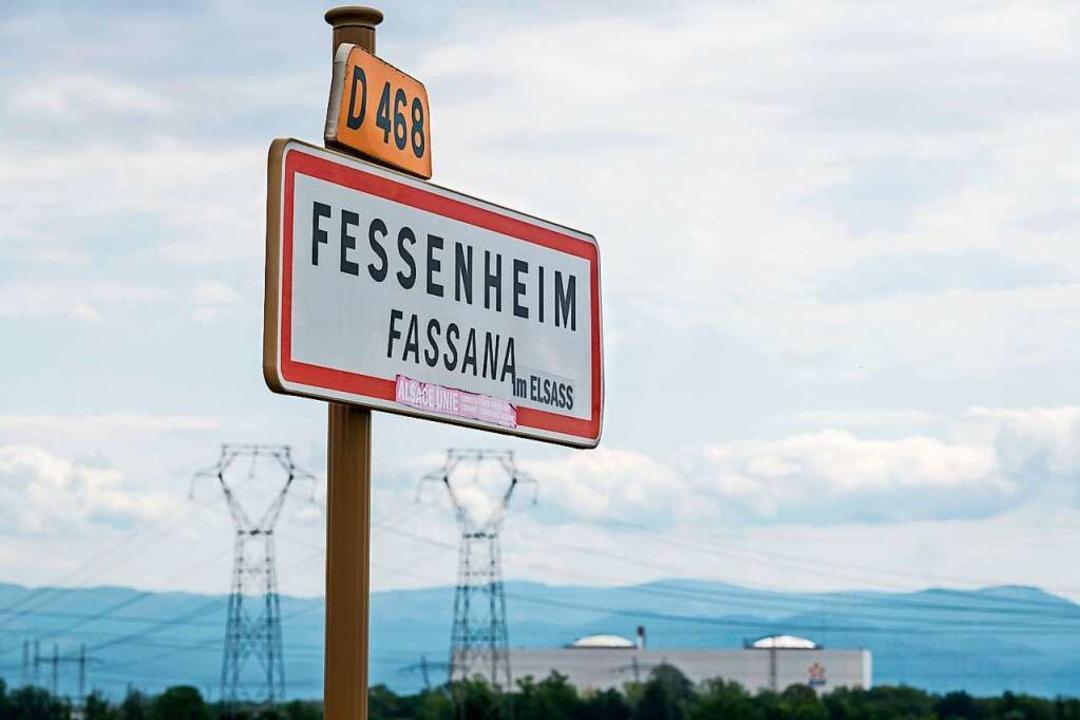 Fessenheims Zukunft soll frei von radi...s wünschen sich die deutschen Partner.    Foto: SEBASTIEN BOZON (AFP)