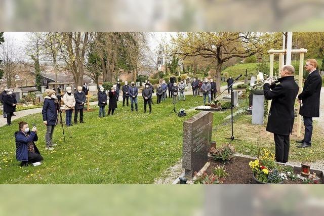 Gedenken an die Opfer von Corona