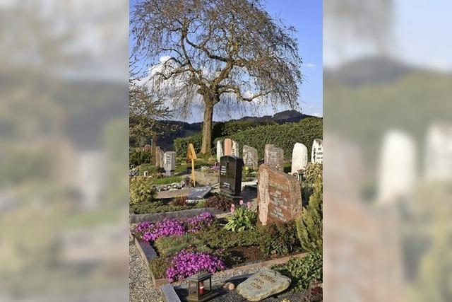 Der Friedhof in Heuweiler soll schöner werden
