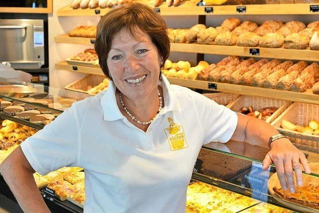 Hannelore Lay verkaufte aus Liebe Brot