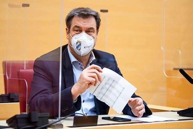 Junge Union mit deutlicher Mehrheit für Kanzlerkandidatur Söders