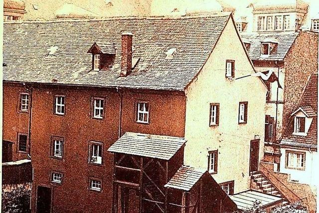 Der Peterhof war für einige Zeit Freiburgs Jugendherberge