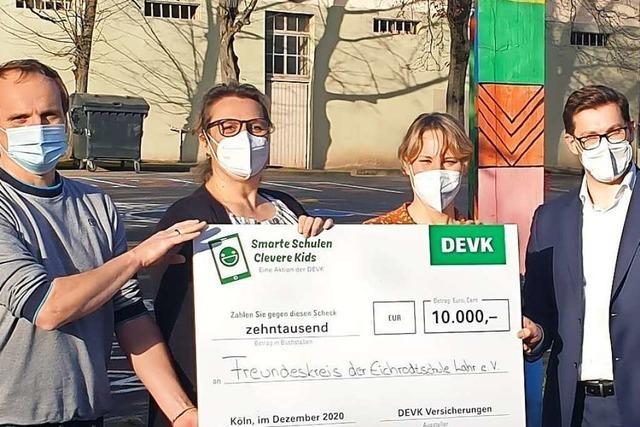 Eichrodtschule Lahr gewinnt 10 000 Euro bei einer Verlosung