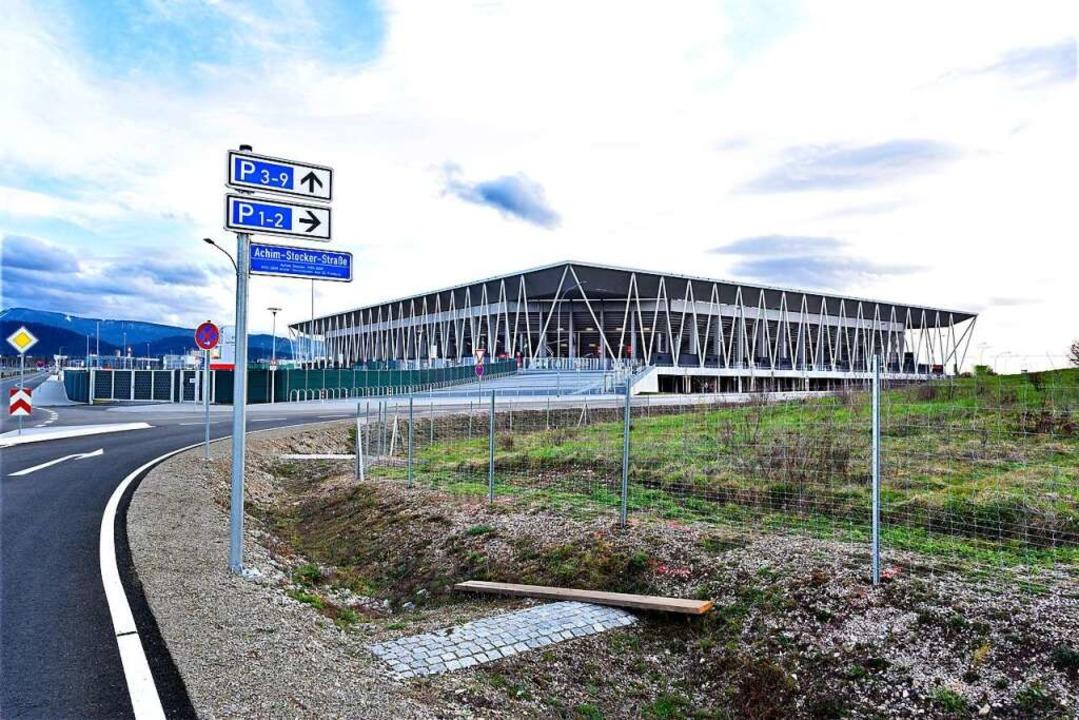 Wann wird im neuen SC-Stadion gespielt?  | Foto: Thomas Kunz