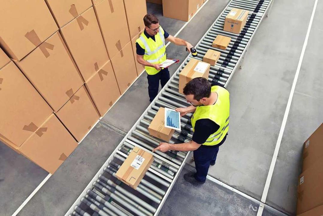 In der Logistikbranchen stehen die Bänder nie still.  | Foto: industrieblick (stock.adobe.com)