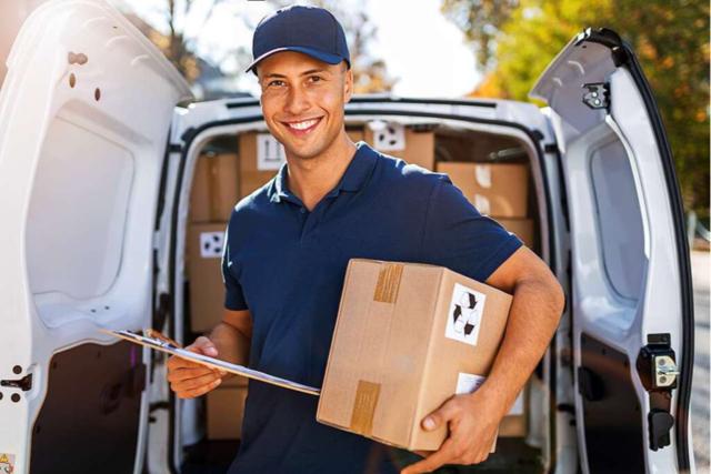 Paketzusteller haben oft Zeitdruck, sind aber auch ihr eigener Chef.