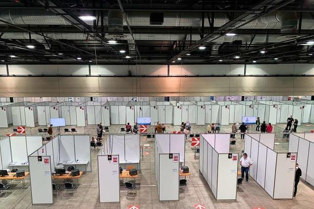 Impfzentrum kurzfristig evakuiert