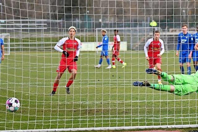 Phase ohne Gegentor soll für SC Freiburg II in Alzenau weitergehen