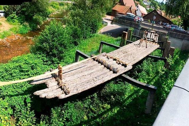 Eine Wanderung führt auf die Spuren der Flößerei im Kinzigtal