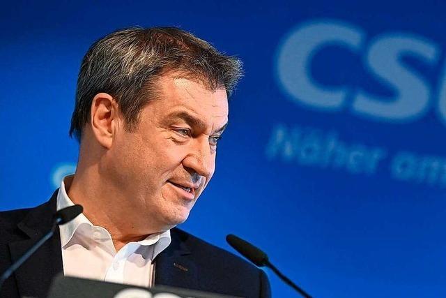 Söder will Entscheidung der CDU zu Kanzlerkandidatur akzeptieren