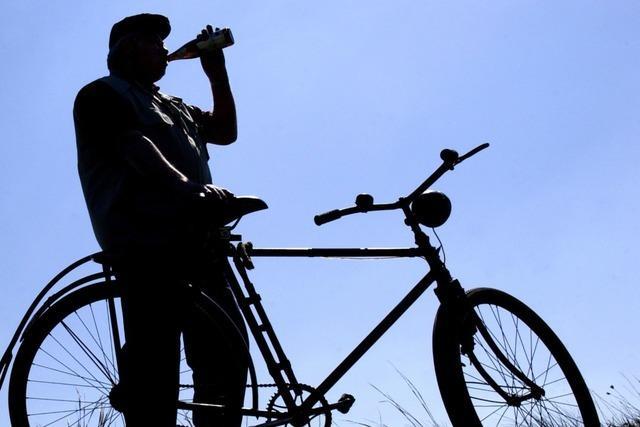 3,3 Promille: Mountainbike-Fahrer stürzt in Bahnhofsunterführung