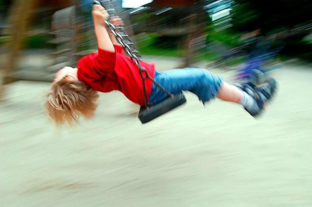 Auf einem Spielplatz beim Freiburger H...n zu Boden gestoßen haben. Symbolbild.  | Foto: Ingo Schneider