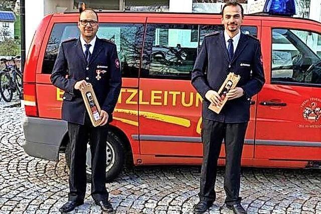 Adelsberger Feuerwehr bestätigt Kommando