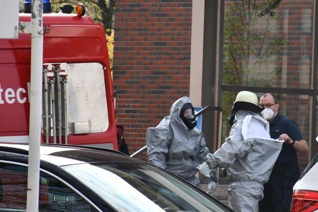 Chlorhaltige Substanz sorgt für Gefahrguteinsatz in Lörrach