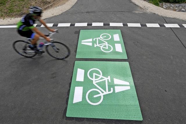 Drei Routen für den Radweg