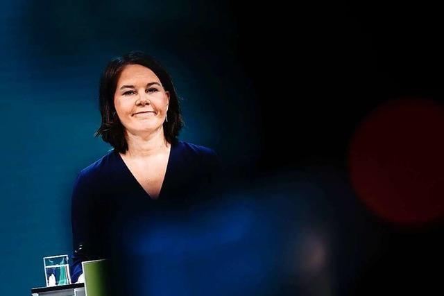 Annalena Baerbock wagt den großen Sprung