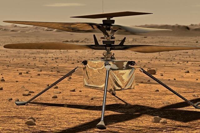 Da schwebt was überm Mars