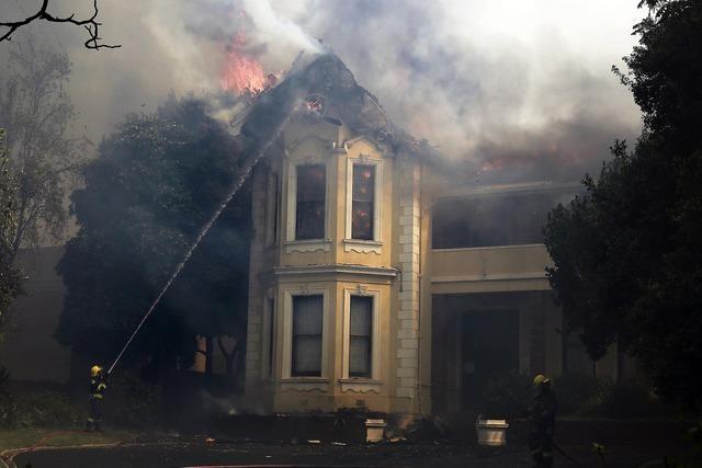 Feuersturm in Kapstadt
