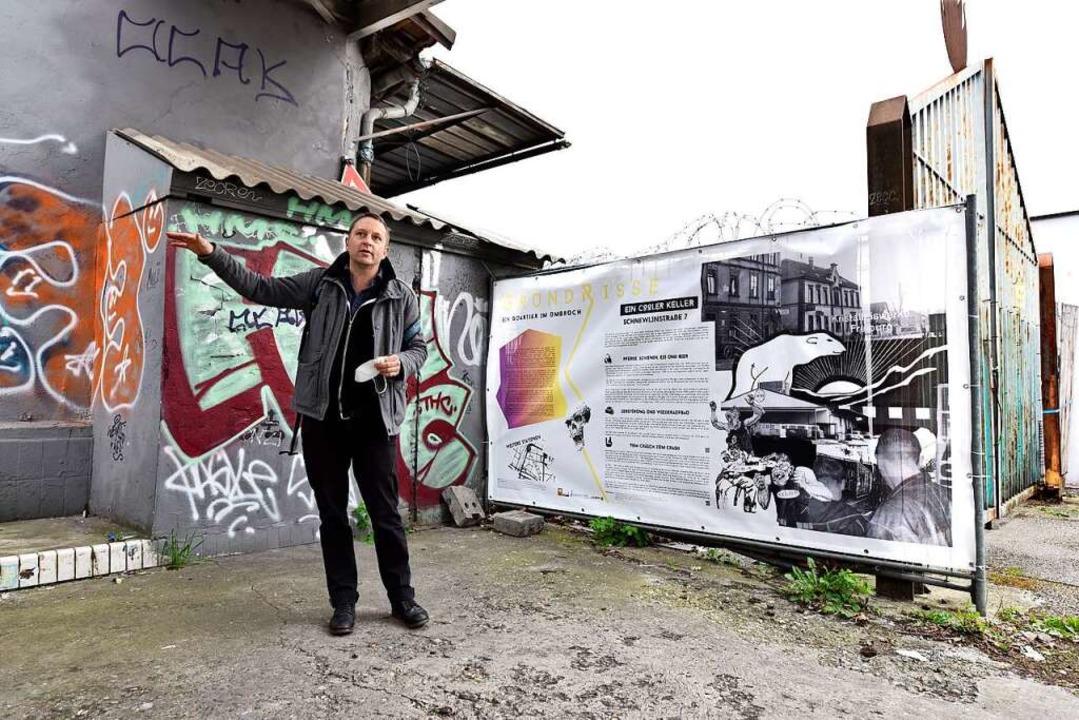 Der Kulturanthropologe Matthias Möller...rümmergrundstücke wieder bebaut wurde.  | Foto: Thomas Kunz