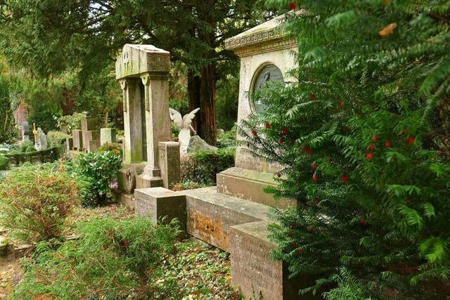 Der Friedhof ist für die Stadt Emmendingen ein Zuschussgeschäft