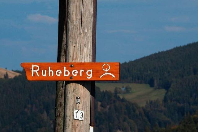 Video: Der Ruheberg bei Oberried