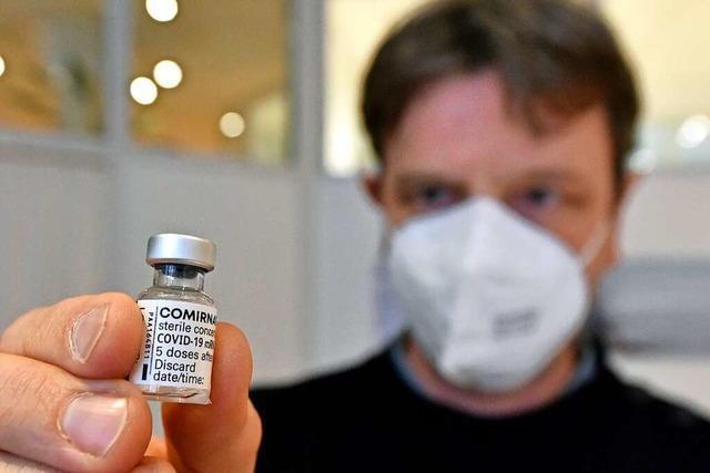 BZ-Talk am Mittwoch: Hausarzt zieht eine erste Impf-Zwischenbilanz