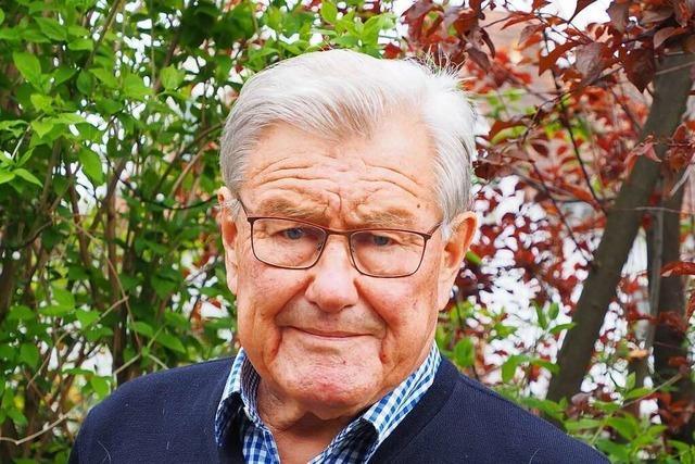 Der frühere Weiler Stadtrat und Kant-Lehrer Karl-Heinz Niechoj wird 80